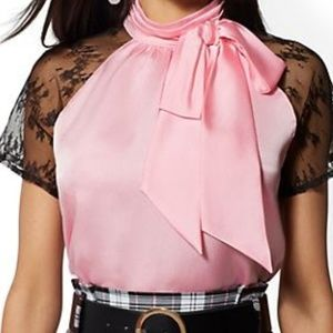 Stunning pink blouse